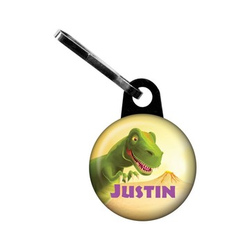 Dinosaur Party Personalized Mini Zipper