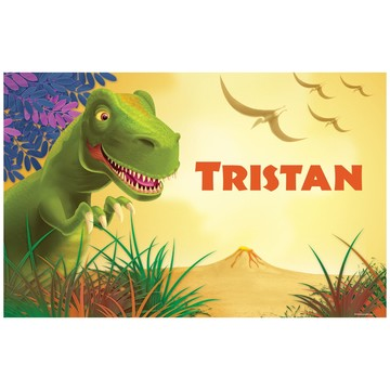 Dinosaur Party Personalized Placemat (each)