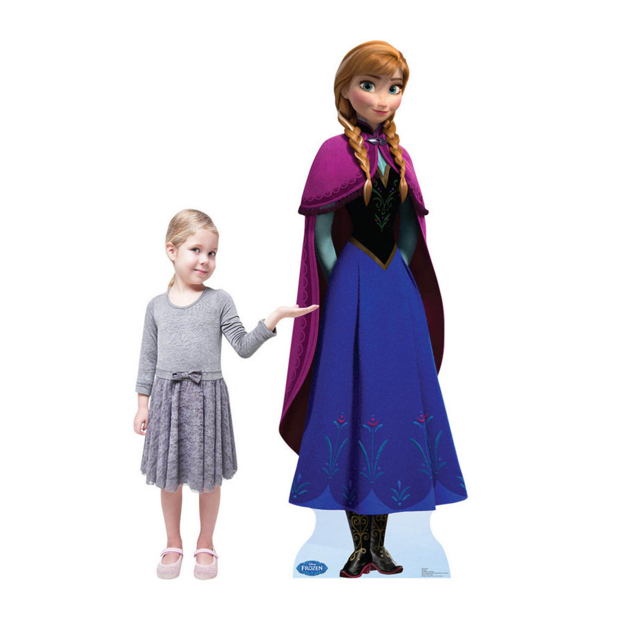 View larger image of Disney Frozen Anna Standup - 6' Tall