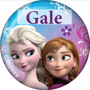 Disney Frozen Personalized Mini Magnet (Each)