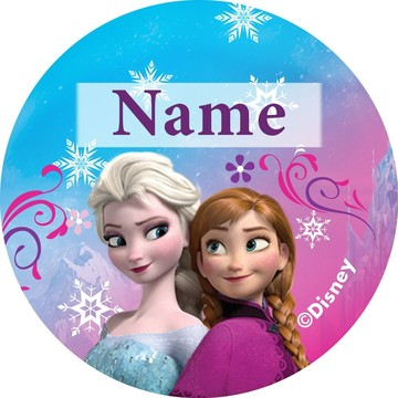 Disney Frozen Personalized Mini Stickers (Sheet of 24)