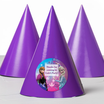 Disney Frozen Personalized Party Hats (8 Count)