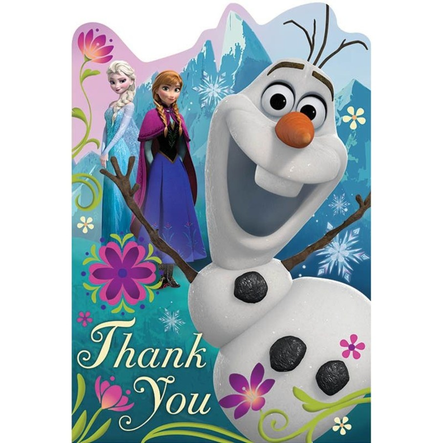 View larger image of Disney Frozen Postcard Thank You Cards (8 Pack)