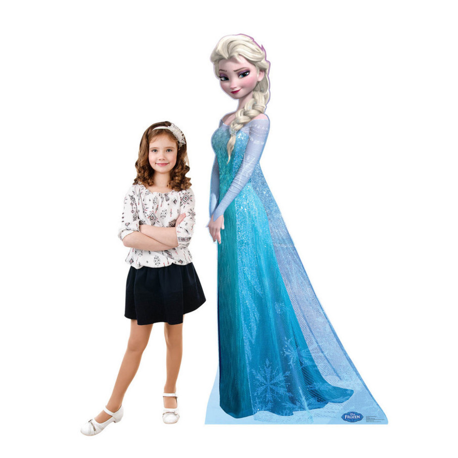 View larger image of Disney Frozen Snow Queen Elsa Standup - 6' Tall