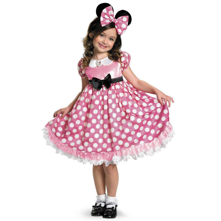 View larger image of Disney Mickey Mouse Clubhouse Pink Minnie Mouse Glow in the Dark Toddler Costume
