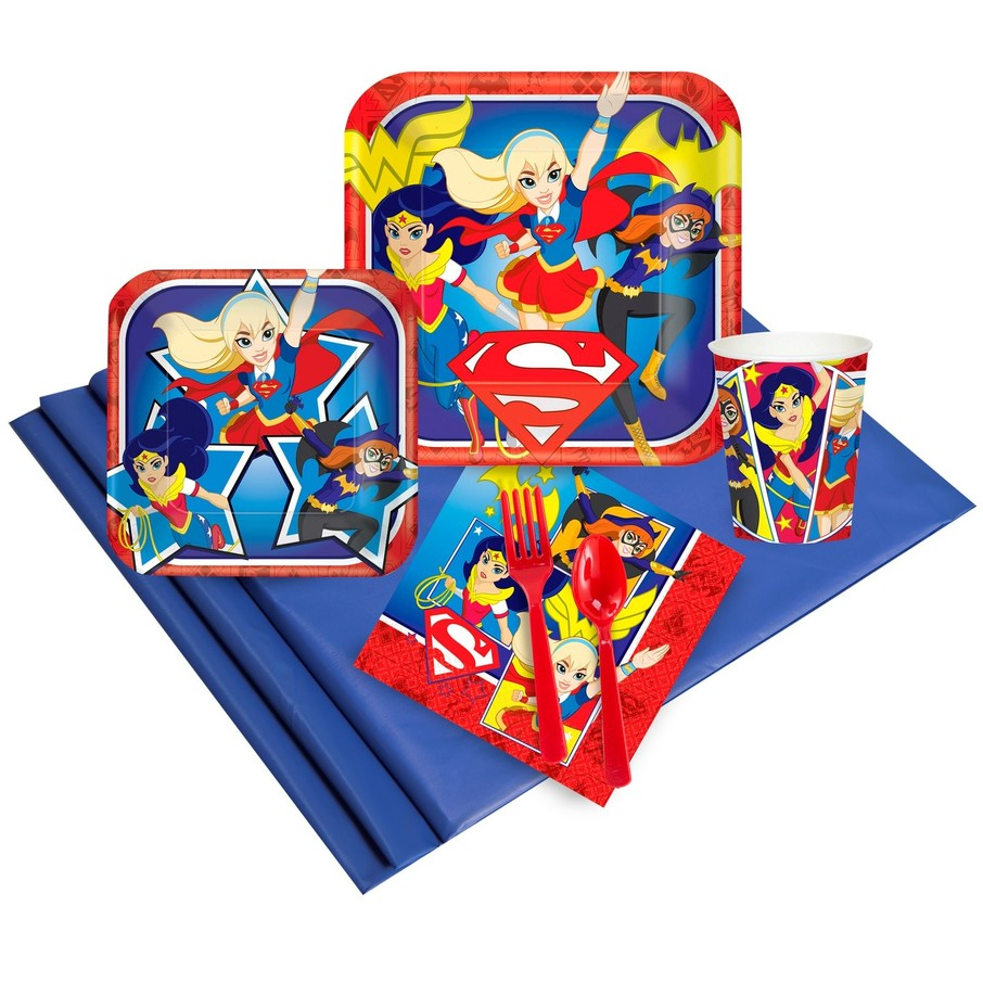 View larger image of DC Comics Super Hero Girl Party Pack (24)