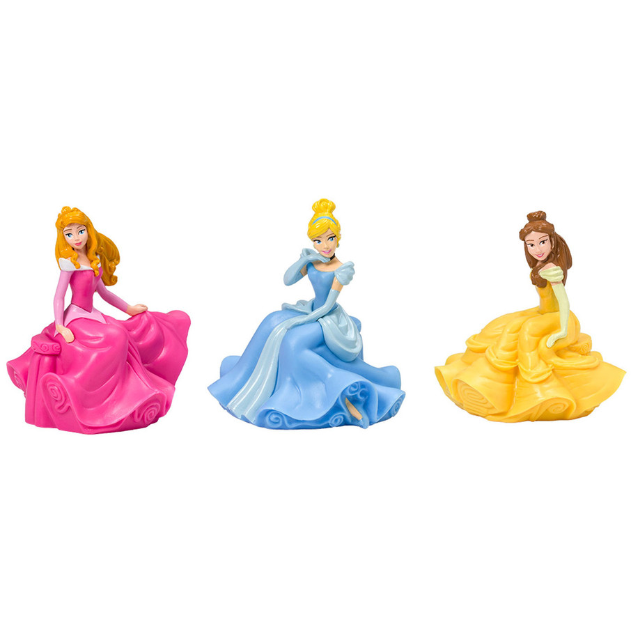 View larger image of Disney Princess Cake Topper (3 pieces)