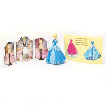Disney Princess Cinderella Cake Topper (2 Pieces)