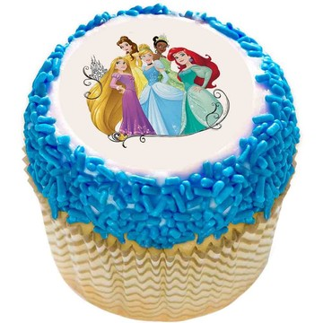 "Disney Princess Dream 2"" Edible Cupcake Topper (12 Images)"