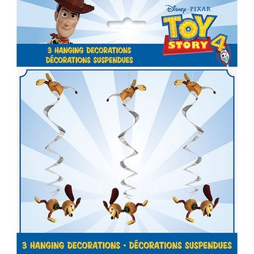 Disney's Toy Story 4 Hanging Swirl Decorations, 3ct