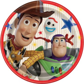 Disney's Toy Story 4 Lunch Plates, 8ct