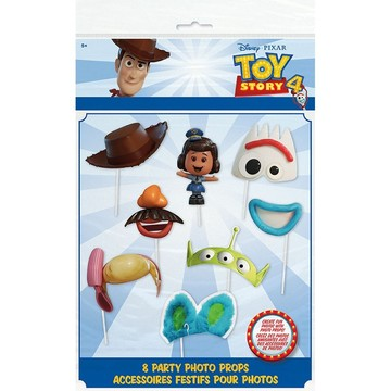 Disney's Toy Story 4 Photo Booth Props, 8pcs