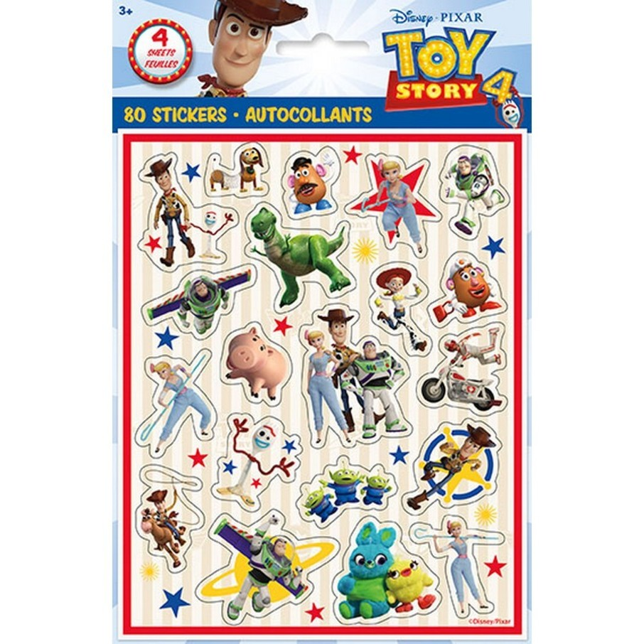 View larger image of Disney's Toy Story 4 Sticker Sheets, 4ct