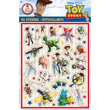 Disney's Toy Story 4 Sticker Sheets, 4ct