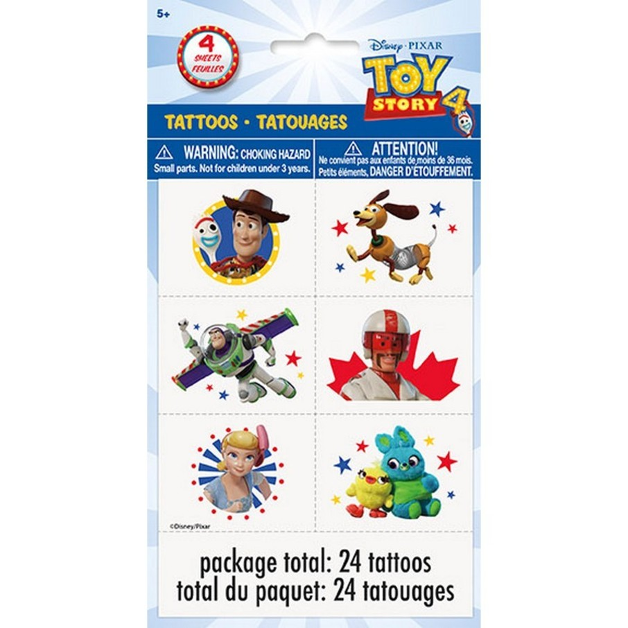 View larger image of Disney's Toy Story 4 Tattoos, 24ct