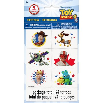 Disney's Toy Story 4 Tattoos, 24ct