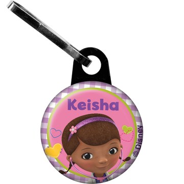 Doc McStuffins Personalized Zipper Pull (Each)