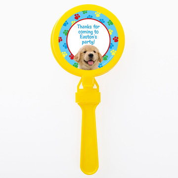 Dog Party Personalized Clappers (Set of 12)
