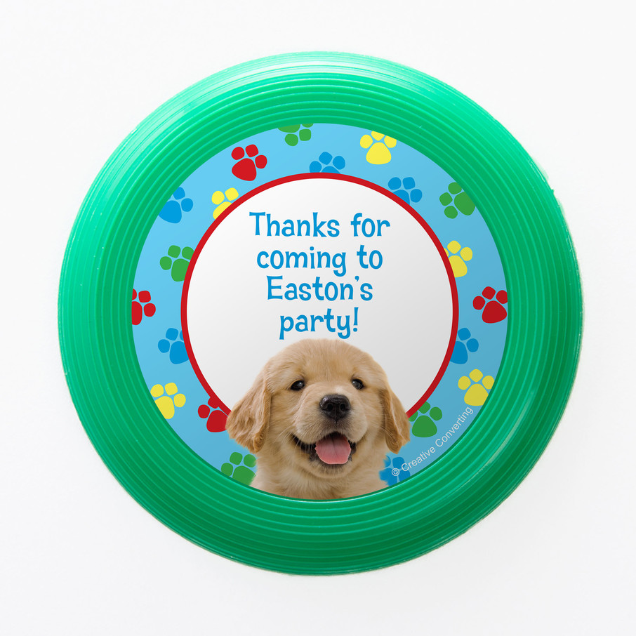 View larger image of Dog Party Personalized Mini Discs (Set of 12)
