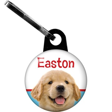Dog Party Personalized Zipper Pull (each)