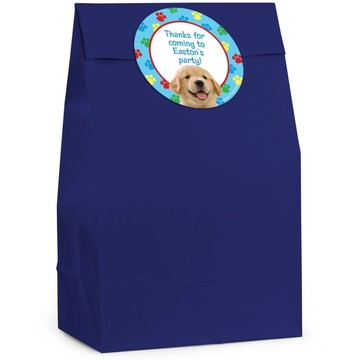Dog Personalized Favor Bag (Set Of 12)