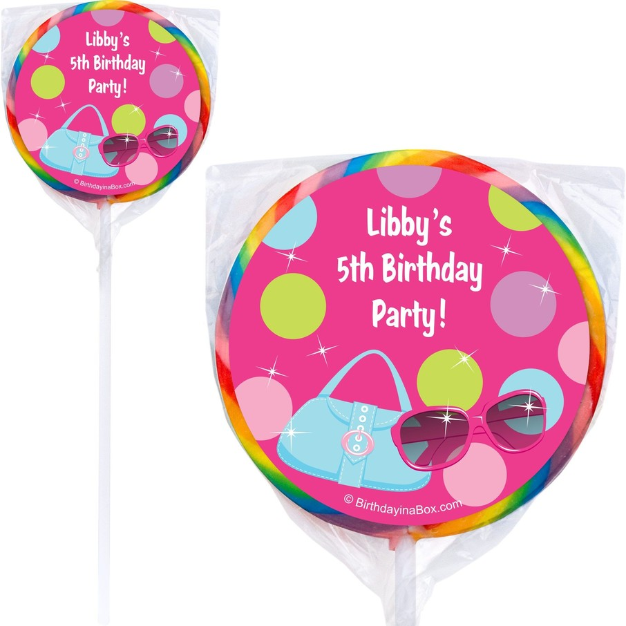View larger image of Doll Party Personalized Lollipop (PACK OF 12)