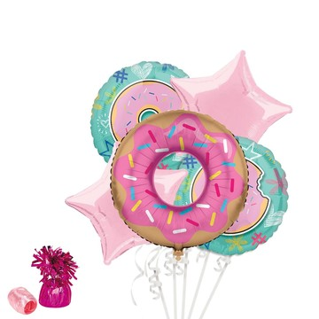 Donut Deluxe Balloon Bouquet Kit
