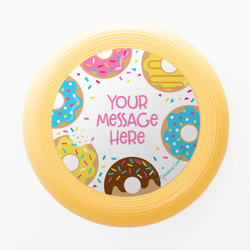 Donut Personalized Mini Discs (Set of 12)