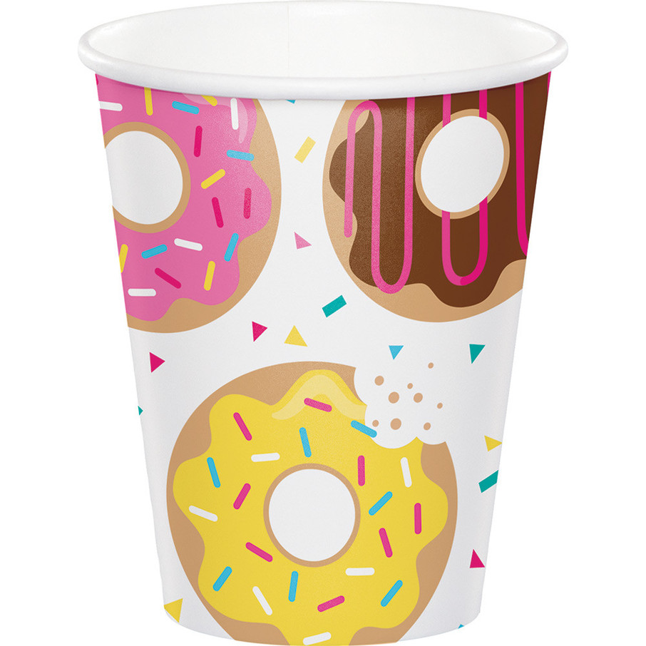 View larger image of Donut Time 9 oz Cups (8 Count)