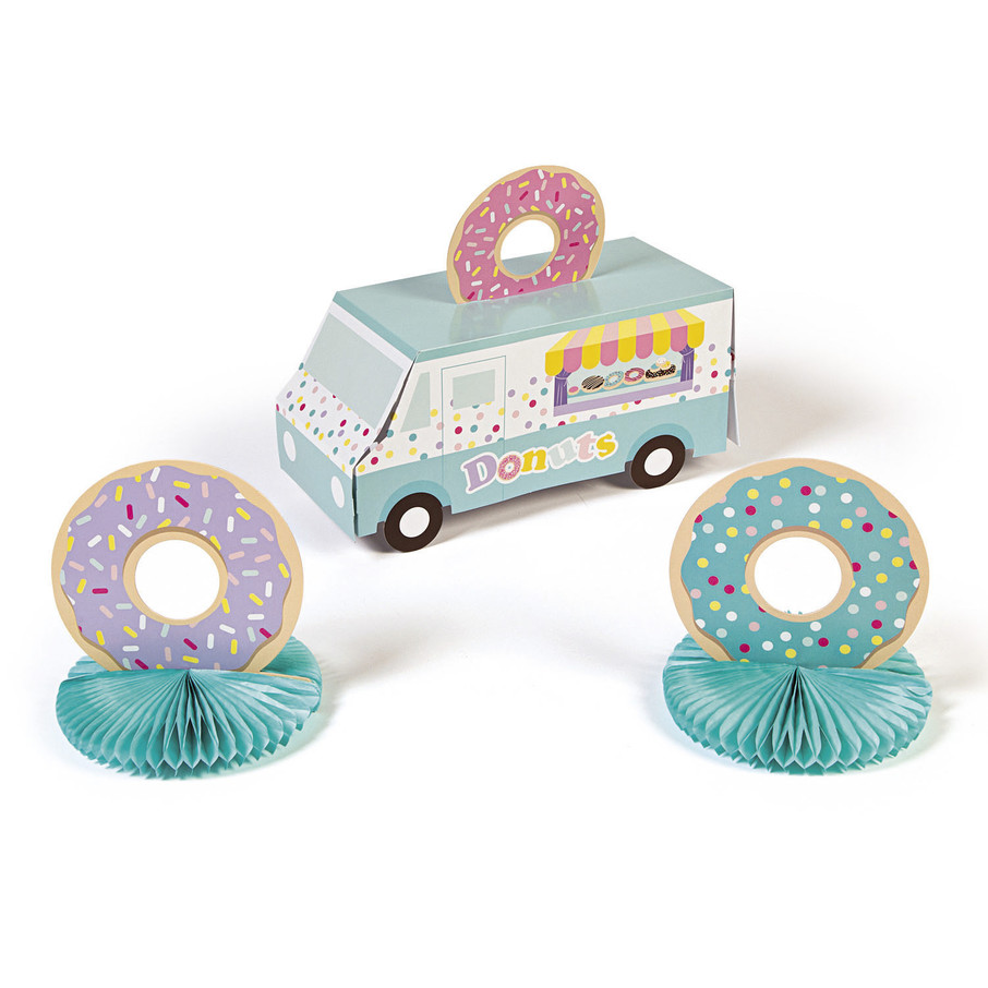 View larger image of Donut Truck Centerpiece (3)
