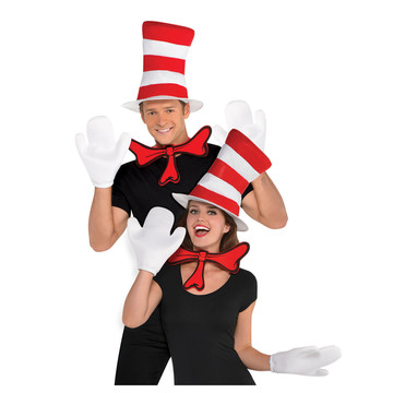 Dr. Seuss Adult Cat in the Hat Accessory Kit