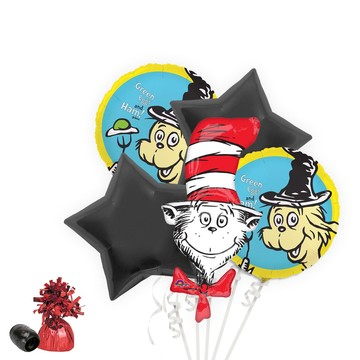 Dr. Seuss Balloon Bouquet Kit