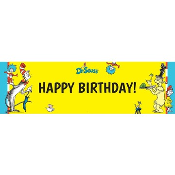 Dr. Seuss Birthday Banner