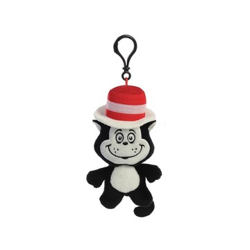 Dr. Seuss Cat in the Hat Plush Clip On