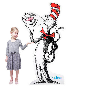 Dr. Seuss Cat in the Hat Standup - 6' Tall