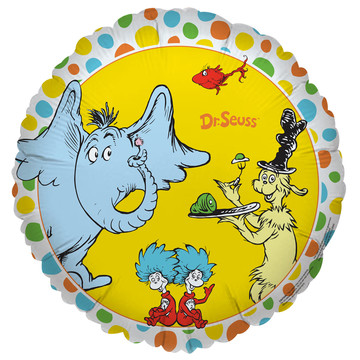 Dr. Seuss Favorites Foil Balloon