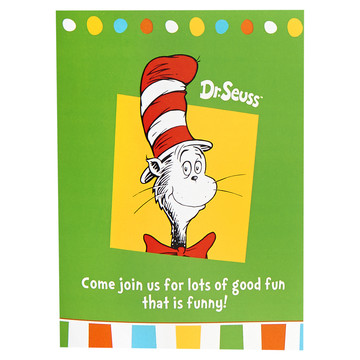 Dr. Seuss Favorites Invitations (8)
