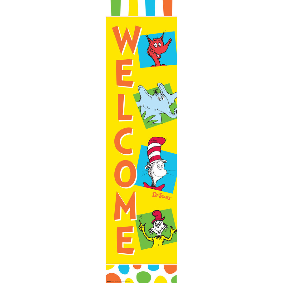 View larger image of Dr. Seuss Favorites Vertical Banner