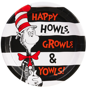 "Dr. Seuss Halloween 9"" Dinner Plates (8)"