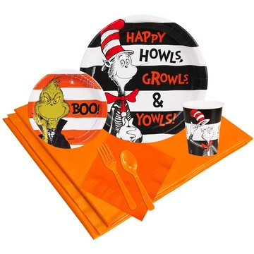 Dr. Seuss Halloween Party Pack 24