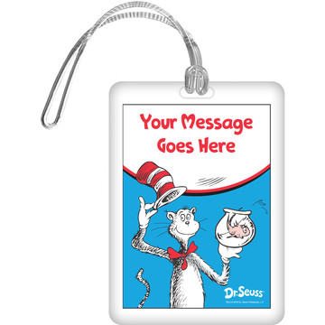 Dr. Seuss Personalized Bag Tag (Each)