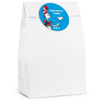 Dr. Seuss Personalized Favor Bag (12 Pack)