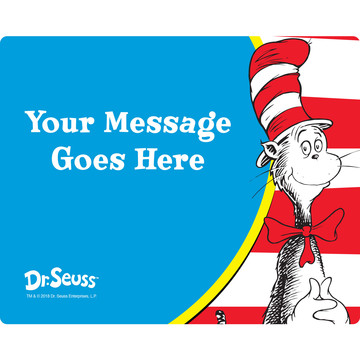 Dr. Seuss Personalized Rectangular Stickers (Sheet of 15)