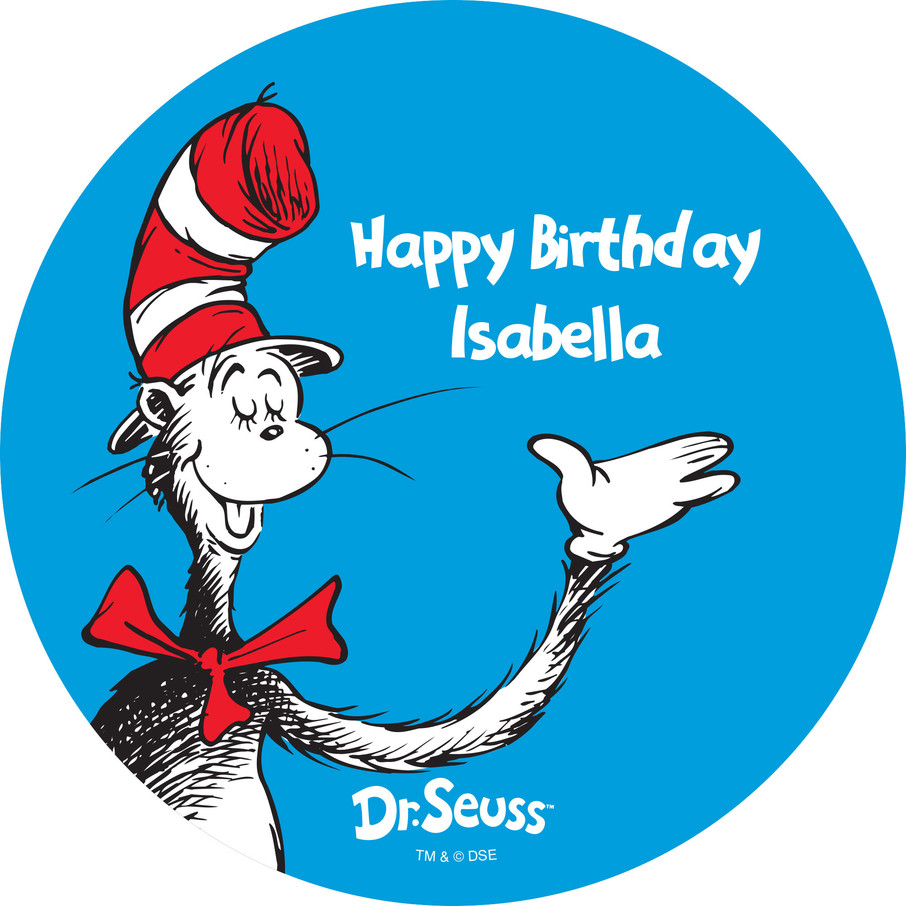 View larger image of Dr. Seuss Personalized Stickers (Sheet of 12)