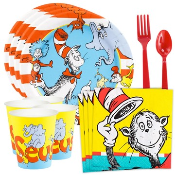 Dr. Seuss Standard Tableware Kit (Serves 8)