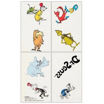 Dr. Seuss Tattoo Sheet (1)