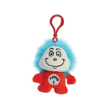 Dr. Seuss Thing 1 Plush Clip On