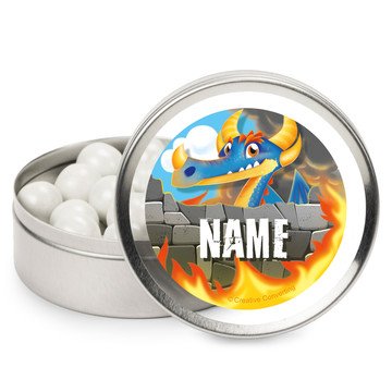 Dragon Personalized Mint Tins (12 Pack)