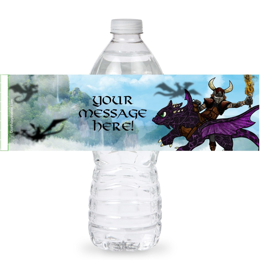 View larger image of Dragon Whisperer Personalized Bottle Labels (Sheet of 4)