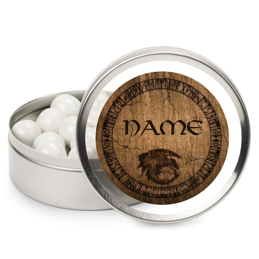 View larger image of Dragon Whisperer Personalized Candy Tins (12 Pack)